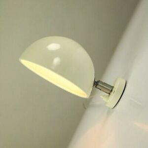 Wand Lampe Beisl Leuchten Gelenk Halbkugel Multi-Angebot altweiß Vintage 60 70er