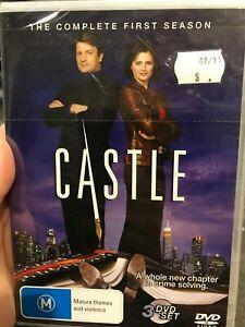 Castle-Season-1-NEW-sealed-region-4-DVD-3-discs-comedy-drama-tv-series