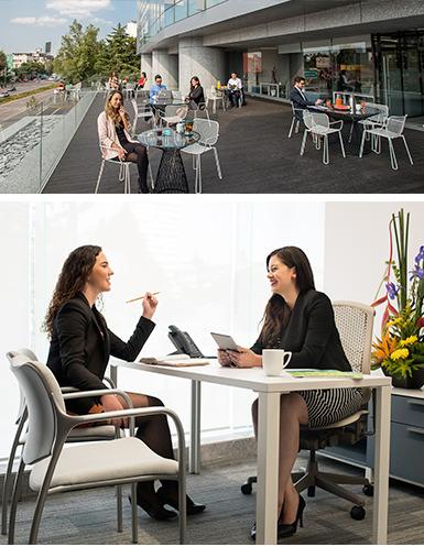 Oficina En Renta En Centro De Negocios En Corporativo Condesa Para 6 Personas (m