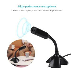 Professional-USB-Condenser-Microphone-Mini-Studio-Audio-Recording-For-Skype-SPM