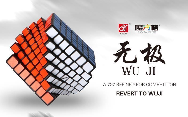 Qiyi/MO Fang GE 7x7x7 wuji velocità Cubo Puzzle-Cubo di RECORD MONDIALE