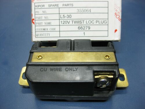 120V Twist Lock 30A Olympia Outlet Receptacle L5-30
