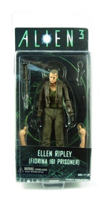 NECA, Alien 3 Series 8, Ellen Ripley Action Figure, New and Sealed, 7 inch