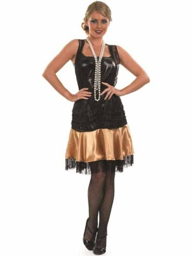 Adult 20s Evening Party Outfit Fancy Dress Costume Charleston Flapper Female