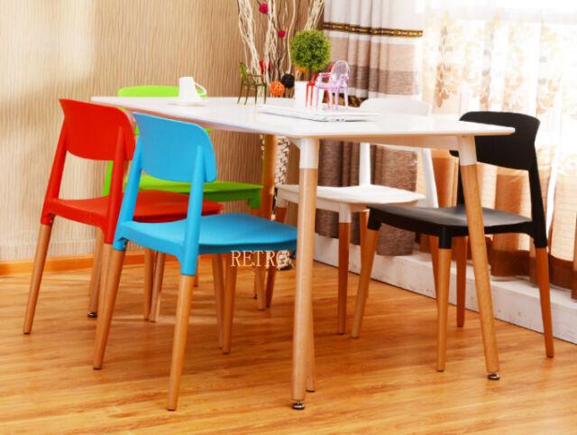 Table de salle à manger et 4 chaises Rétro DSW Eiffel... |