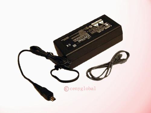 8.4V AC/DC Adapter For Canon ZR-960 ZR850 ZR930 FS11 CA-590 CA-590A CA-590E PSU