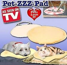 NEW Small Pet-ZZZ-Pad Heating Pad For Pets AS SEEN ON TV PetZZZPad BONUS Cover!