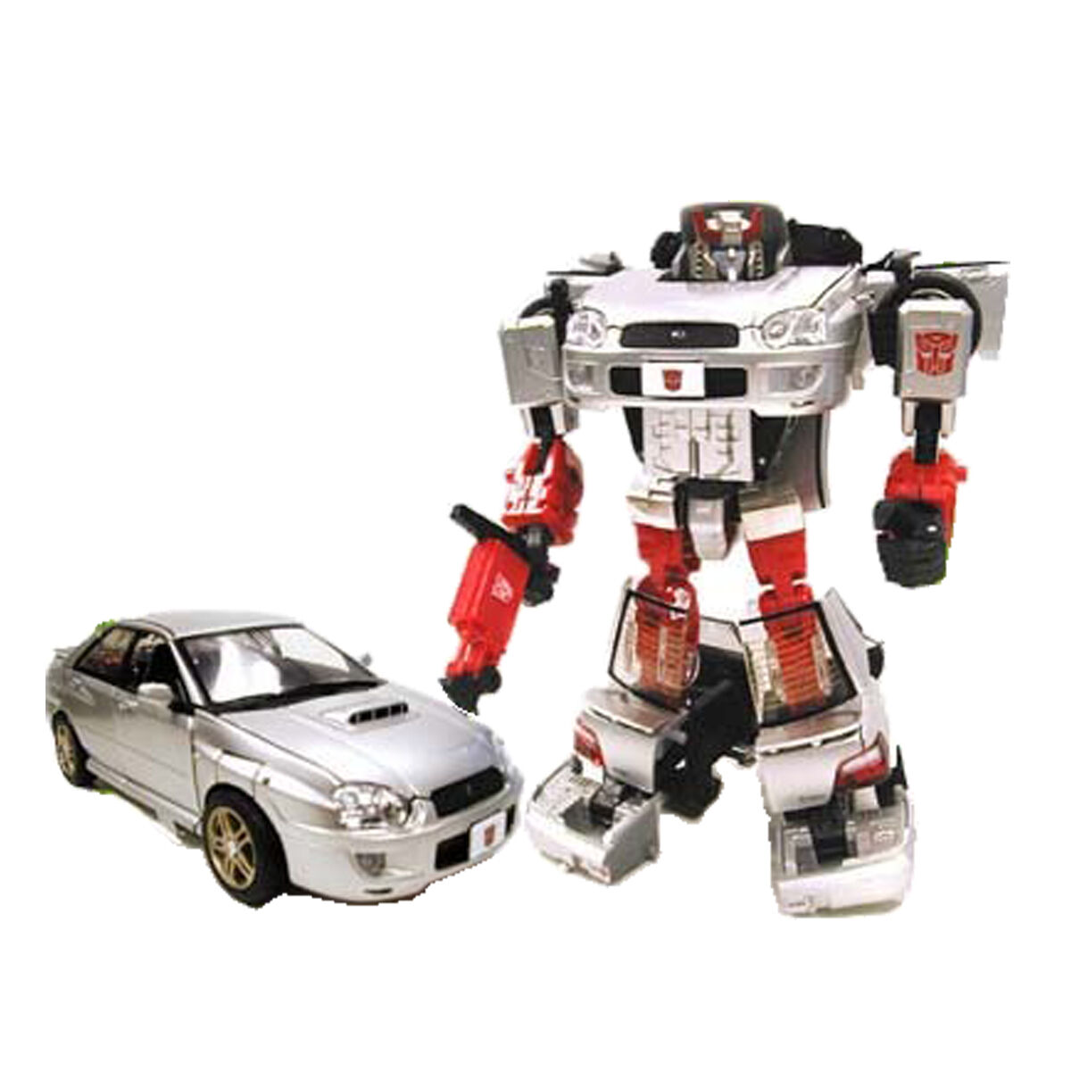 Binaltech BT-03 Streak Feat Impreza WRX  carrozzeria in metallo - Transformers
