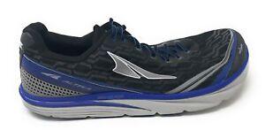 Altra-Torin-IQ-Men-039-s-Road-Running-Shoe-Black-Blue-12-Used