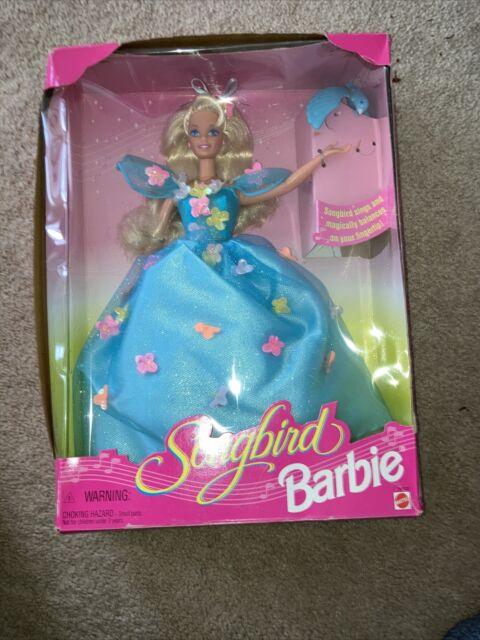 SONGBIRD BARBIE DOLL Singing Bird14320 Mattel 1995 NRFB Beautiful MIB RETIRED