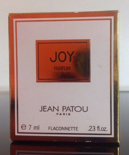Women-039-s-Vintage-Miniature-Joy-by-Jean-Patou-0-25oz-BOX-AND-BOTTLE-ONLY-EMPTY