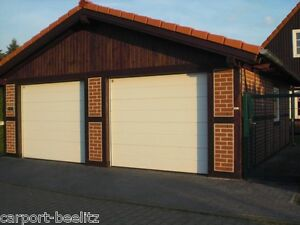 fachwerk garage gifhorn satteldach kvh 7 00 x 7 00 m als bausatz ebay. Black Bedroom Furniture Sets. Home Design Ideas