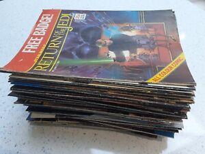 Vintage Star Wars Return Of The Jedi Magazine 80s Marvel Comics Uk Books Ebay