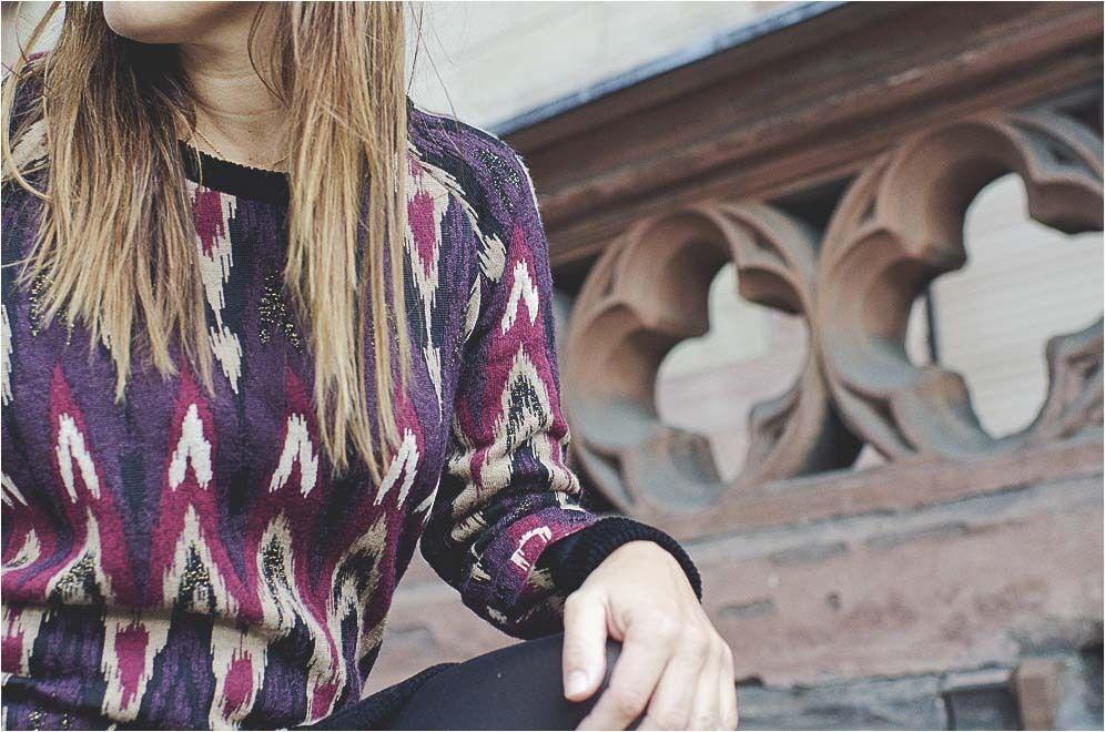 Maison Olga NWT  625 lila tröja Dress SZ 03   46