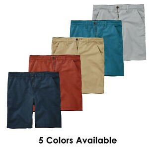 Timberland-Men-039-s-Webster-Lake-Twill-9-034-Inseam-Chino-Shorts-A17IN