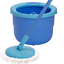 Spontex Full Action System Spin Mop and Bucket with Extra Microfibre Refill