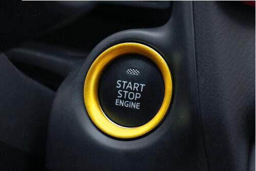 Engine Start Stop Button Ring For MAZDA 3 MAZDA 6 2 CX-5 CX-9 CX-3 MX-5 14-2018