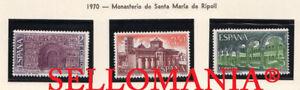 1970-MONASTERIO-SANTA-MARIA-DE-RIPOLL-GIRONA-EDIFIL-2005-07-MNH-TC21027
