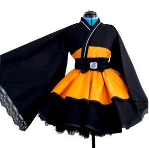 Naruto Temari Kimono Adult Children Cosplay Costume Halloween Anime