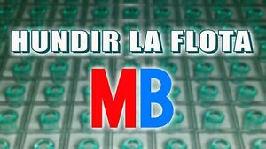 Multi-Anuncio del juego de mesa HUNDIR LA FLOTA de MB Milton Bradley ©1983