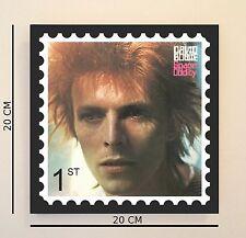 Retro Pop Art Bowie Space Oddity  8 INCH Picture Tile Gift Idea FREE UK P&P