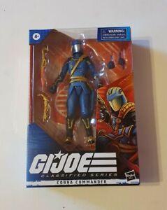 GI Joe Action Force Cobra Commander Classified Pulse Exclusive 2020