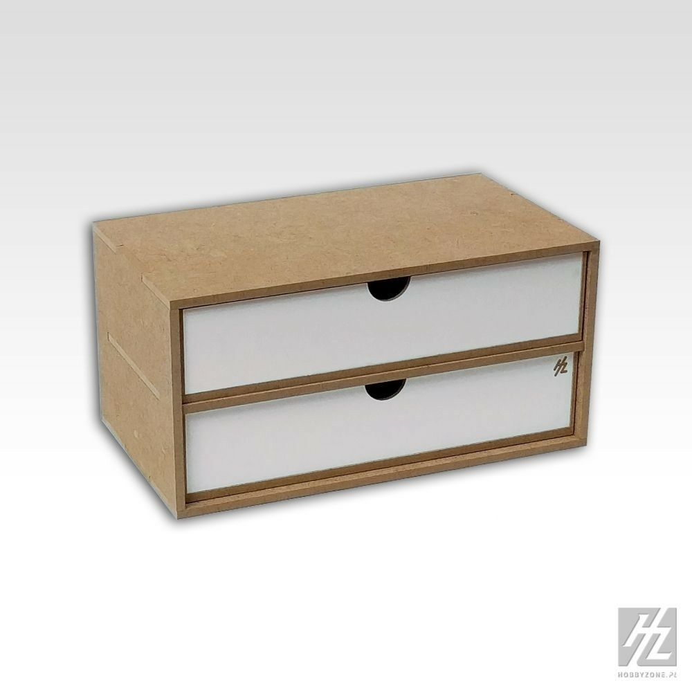 Large Drawers Module x 2 (Drawers Module x 2) Mws Hobbyzone Hobby Small Parts