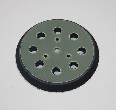 125mm Ersatz-Klett-Teller für Exzenter-Schleifer Schleifteller Stützteller