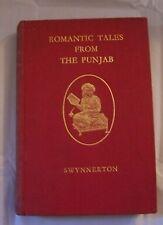 Book India Folk Fairy Tale Bengal Romantic Punjab Chund Asia Lore Stories Jungle