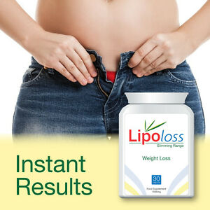 Details About Lipoloss Weight Loss Pills Tablets Get Thin Fast Very Powerful Get Skinny Quick