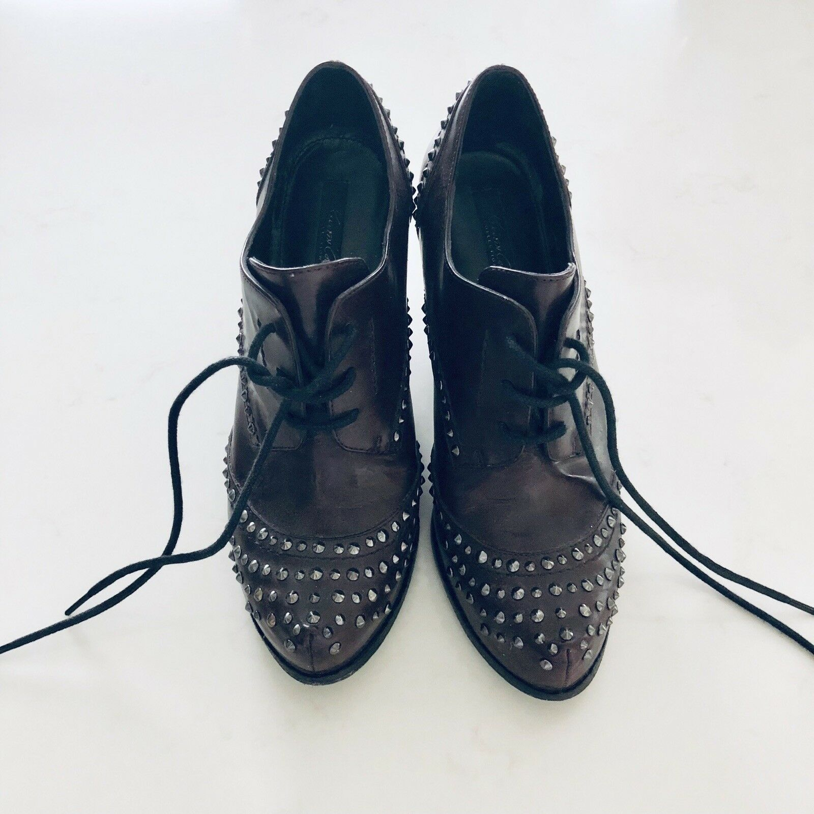 Kenneth Cole studs close toe booties 6