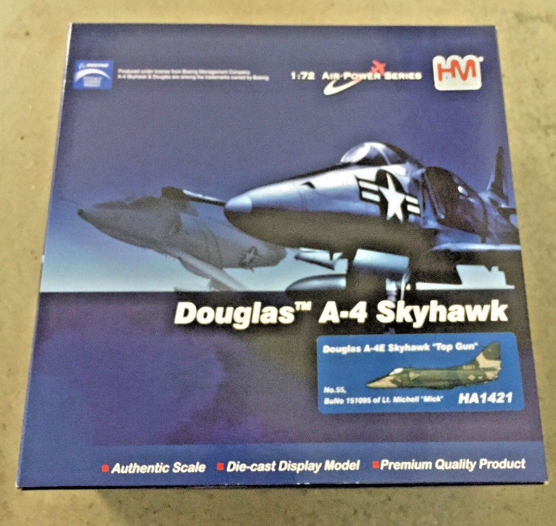 Hobby Master HA1421 Douglas A-4E Skyhawk USN VF-126 Bandits, rosso 55 , NAS Mirama