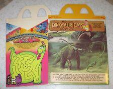 1981 McDonalds Happy Meal Box - Dinosaur Day #3 - Vintage