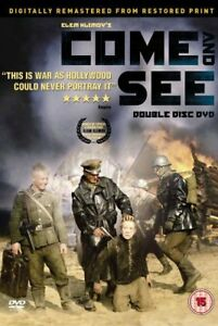 Come-And-See-1985-War-Movie-2-Disc-Set-DVD-Remastered-New-Factory-Sealed