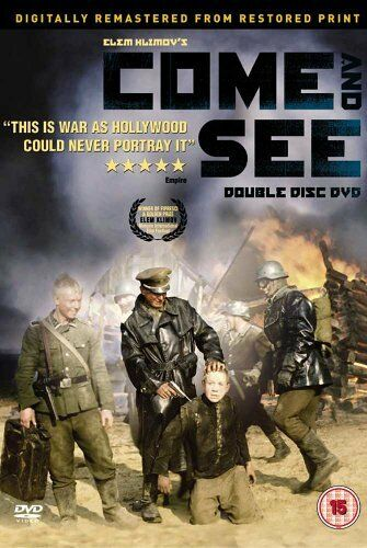 Come And See 1985 War Movie 2 Disc Set DVD (Remastered, New, Factory Sealed)