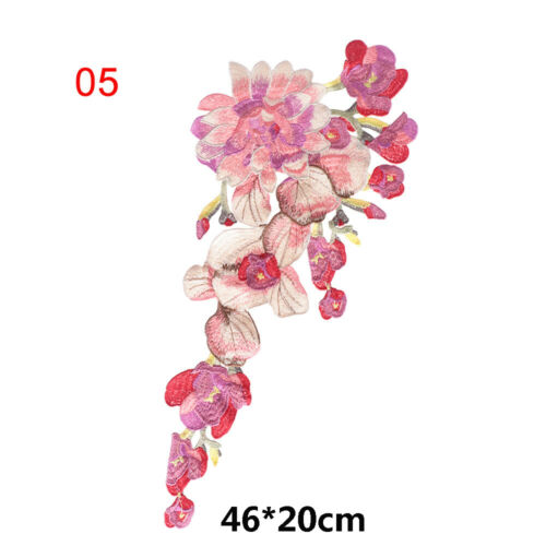 Trim Lace Clothes Patch Flower Neckline Dress Applique Embroidered Collar