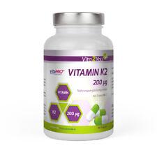 Vita2You Vitamin K2 - 200µg - 365 Kapseln - Menaquinon MK-7 - Jahrespackung