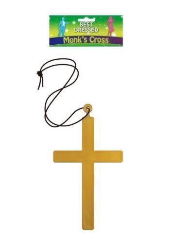 Goldenes Kreuz Kruzifix Karneval Fasching Pfarrer Kirche Priester Nonne Mönch