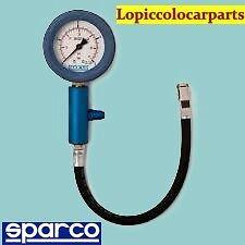 manometro sparco pressione gomme pneumatici auto moto scala 0-4 bar