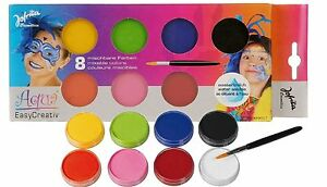 Kinder-Schminke-Aqua-Jofrika-Kinderschminke-8-Farben-Theaterschminke-Karneval
