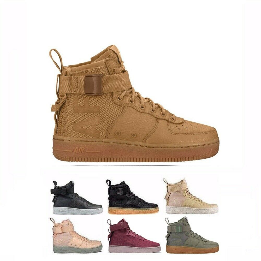Nike SF 1 Special Field  Air Force 1 Mid Women's Shoes AA3966-002 700 004 Seasonal clearance sale