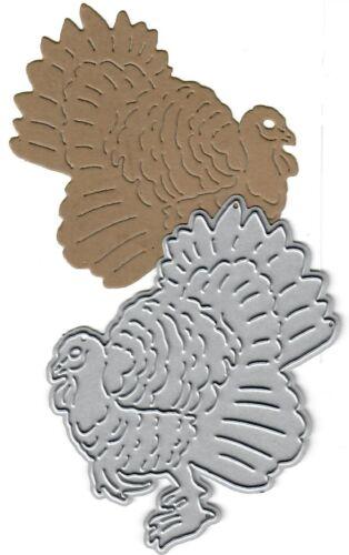 Dies...to die for metal cutting craft die Turkey Animal Thanksgiving fall