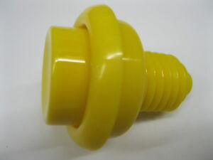Details about New YELLOW Pinball Cabinet Flipper Button Williams Bally  Stern Sega Data East