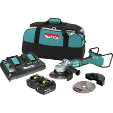 "Makita Brushless Cordless 7"" Cut-Off/Angle Grinder Kit XAG12PT1-R Recon"
