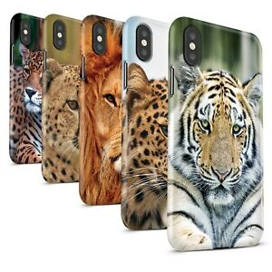 Matte-Phone-Case-for-Apple-iPhone-XS-Max-Wild-Big-Cats