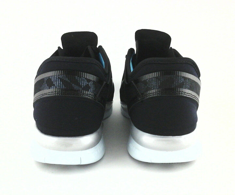 nike libre 5,0 baskets / chaussures en bleu / noir / baskets Argent  moyenne géométrique  s 10 / 42 a2165e