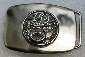 Snap-on-Tools-1920-1980-60th-Anniversary-Belt-Buckle-Limited-Edition-Collectable