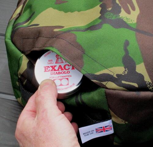 chasse sac Bean jardinage Target Sports Shooting Coussin avec poche fusil à air comprimé