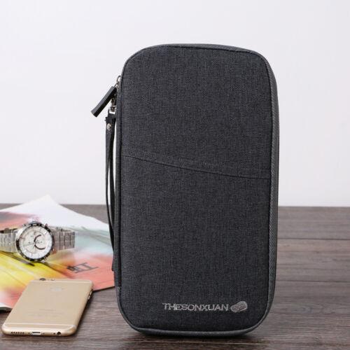 Reiseunterlagen mappe Reisedokumententasche,Reiseorganizer Tasche Reisepass