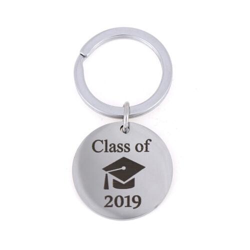 CLASS OF 2019 Graduation Cap Keychain Graduation Gift Keyring DIY Pendant JC FB